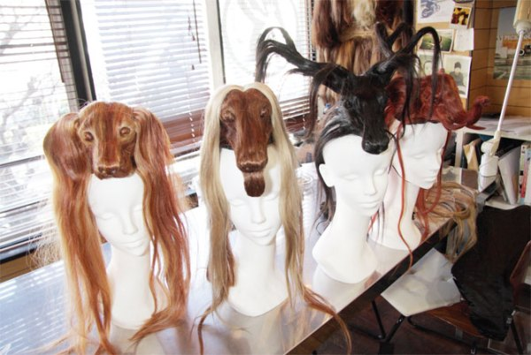 Wigs by Shinji Konishi