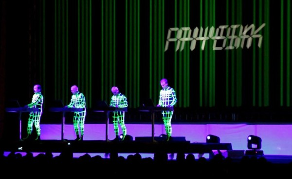 Kraftwerk perform at MIF, Manchester
