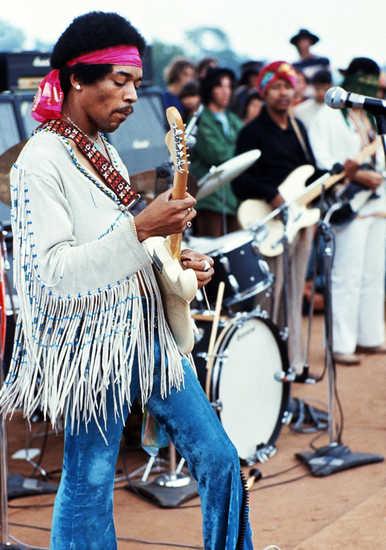 Jimmi Hendrix, Woodstock 1969