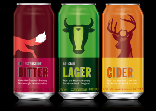 Marks & Spencer's Beer & Cider range