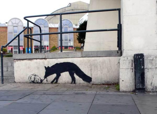 Kentucky Fox // Banksy
