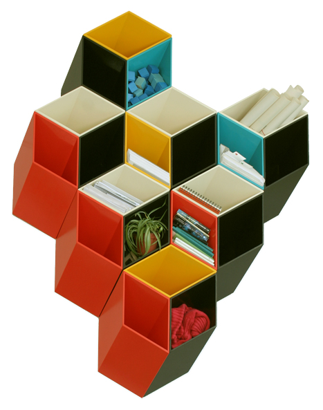 Visual Therapy 3D Wall Cubes Imeble
